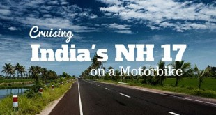 Cruising India's NH 17 on a Motorbike