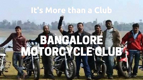 Bangalore Motorcycle Club - more than a club