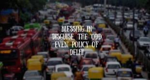 Blessing in disguise, the 'Odd Even' policy of Delhi