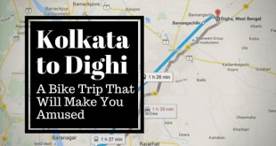 Kolkata to Dighi - label
