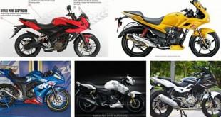 Top 5 Motorbikes