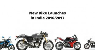 New bike launches in India 2016 - 2017