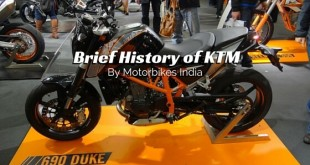 Brief History of KTM by Motorbikes India