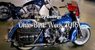 Ohio Bike Week 2016 - Hairy George
