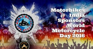 Motorbikes India sponsors World Motorcycle Day 2016