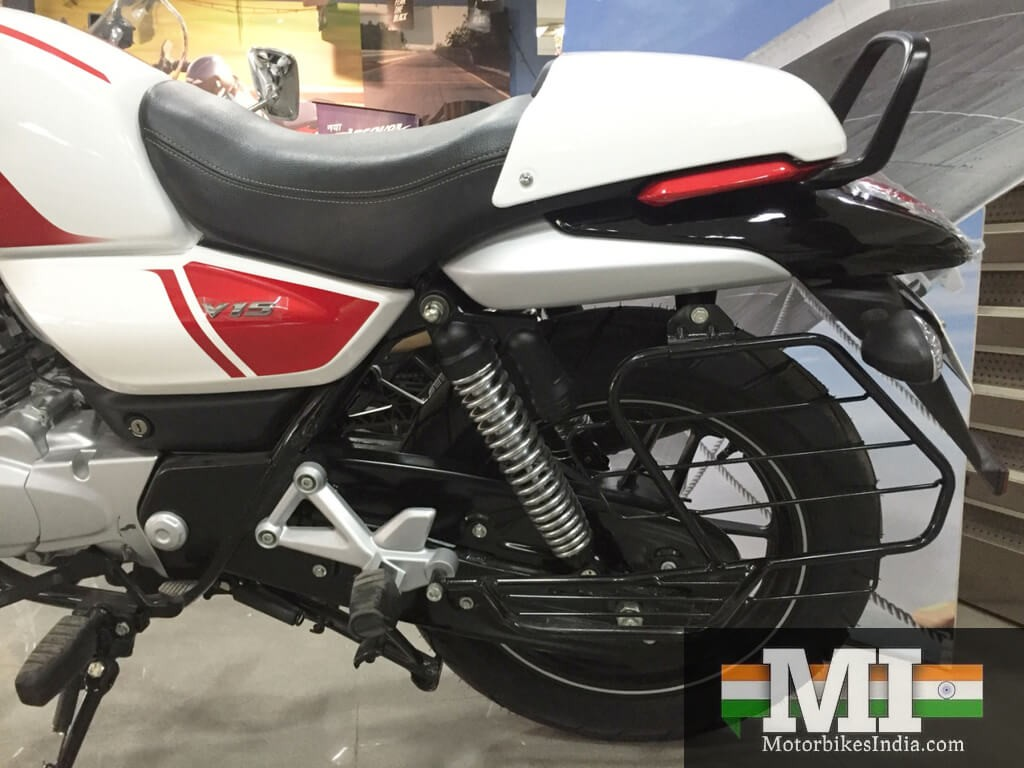 Bajaj V15 Specification Suspension