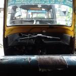 Sleeping in the Auto Rickshaw