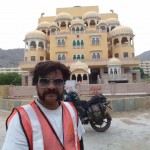 Typical Rajasthan Palace Hotel