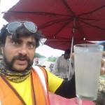Big Glass of Thandi Nimbu Paani - Punjabi Style