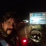 J&K Border in Truck Lights