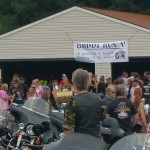 The Grimm Run motorbike event in August 2016