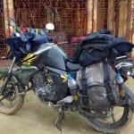 After off roading near Krishnanagar