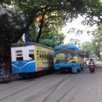 The Blue Bus and the Tram