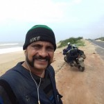 Beach Road from Konark to Puri