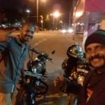 Leh Rider Vinod Sebaan at Trivandrum