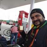 Coffee at Petrol Bunk near Dindigul
