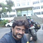 At Bangalore University Campus