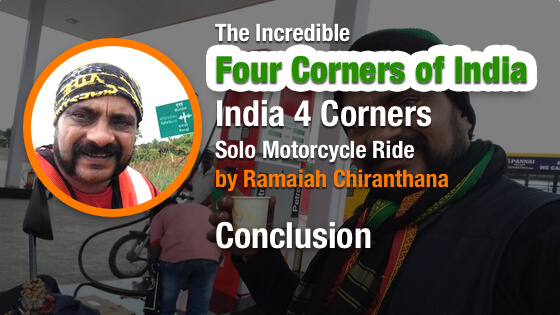 Four Corners of India - Conclusion