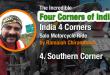 Four corners - South