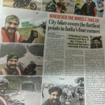Bangalore Mirror Paper Article Published on 01/08/2016