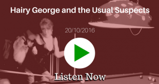 Hairy George 20/10/2016