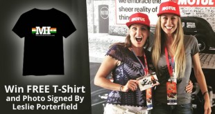 Win free t-shirt from Leslie by writing about motorbikes