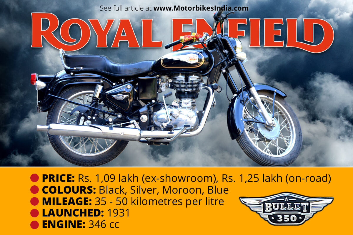 RE Bullet 350 Quick Facts Infographics