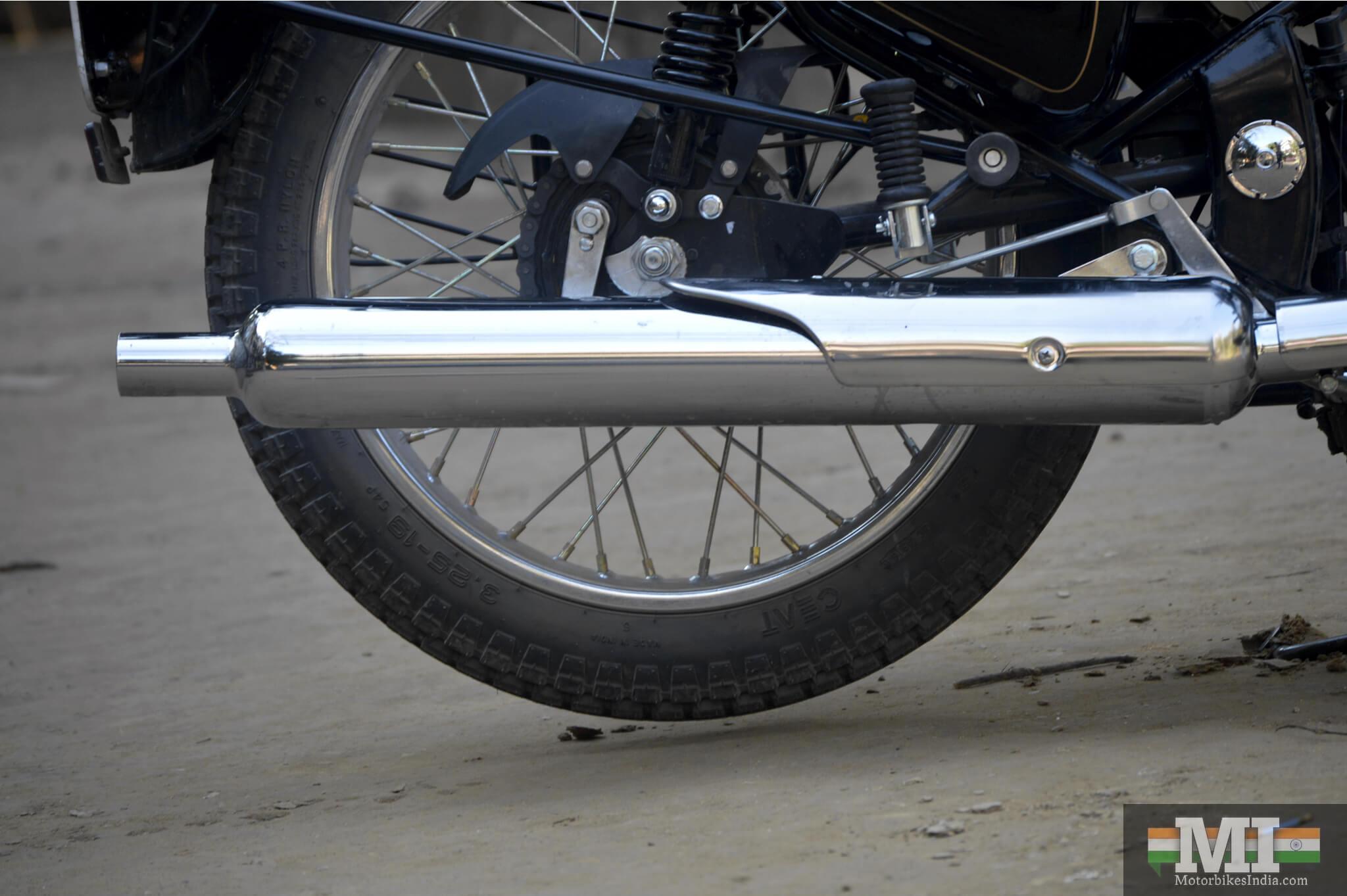 Bullet 350 Exhaust pipe