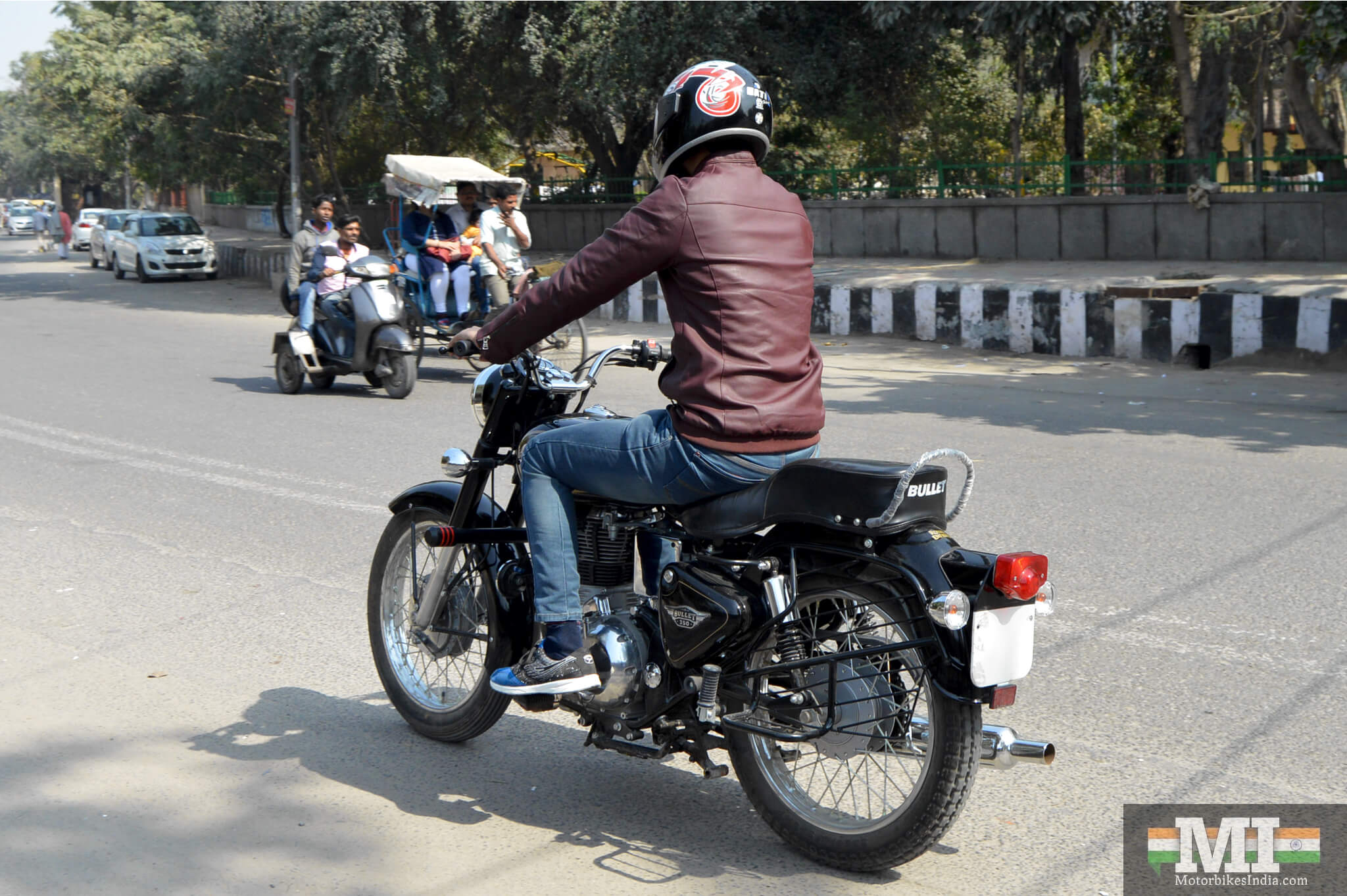 Royal Enfield Bullet 350 Test Ride 4