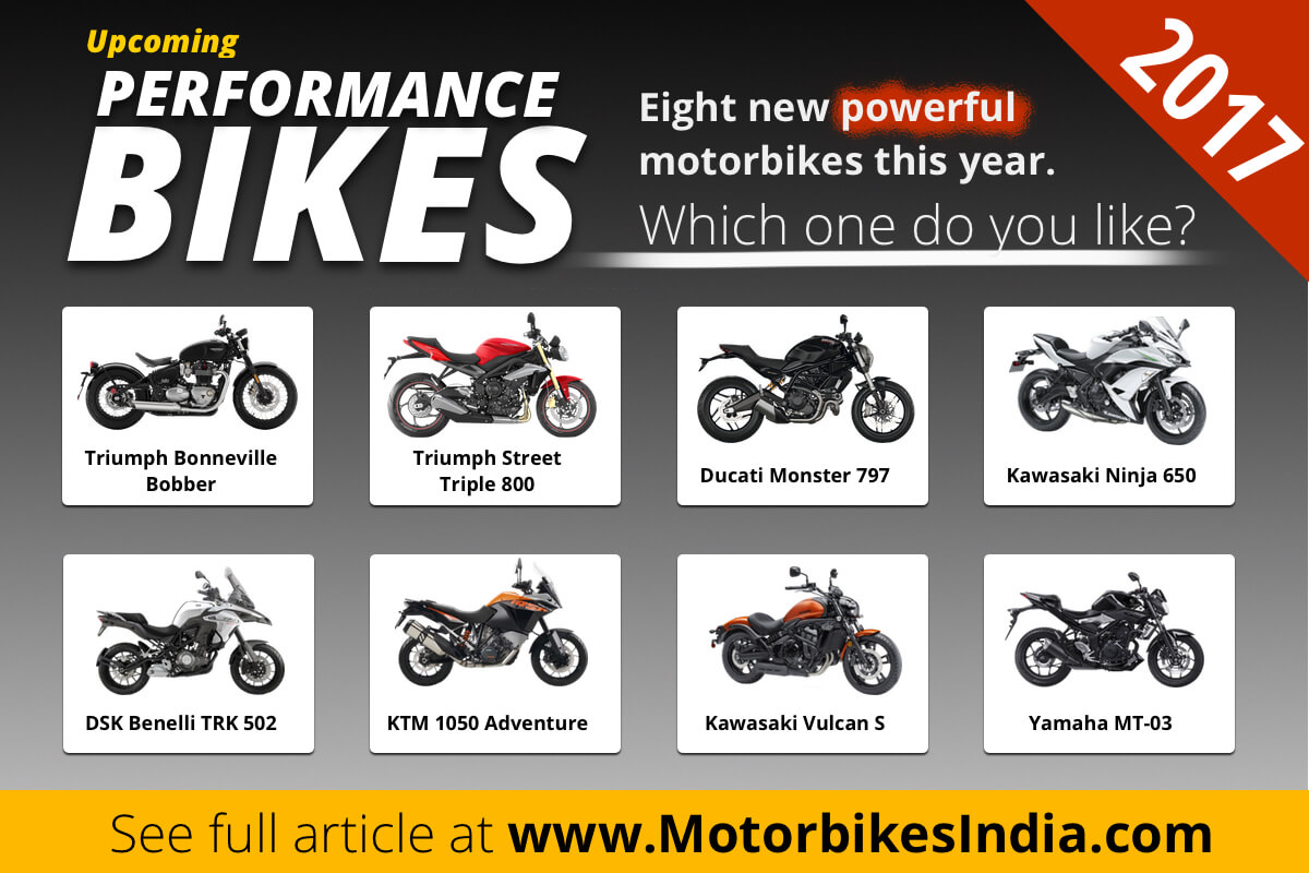 Upcoming performance bikes 2017 Quick Facts