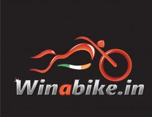 Win a bike logo
