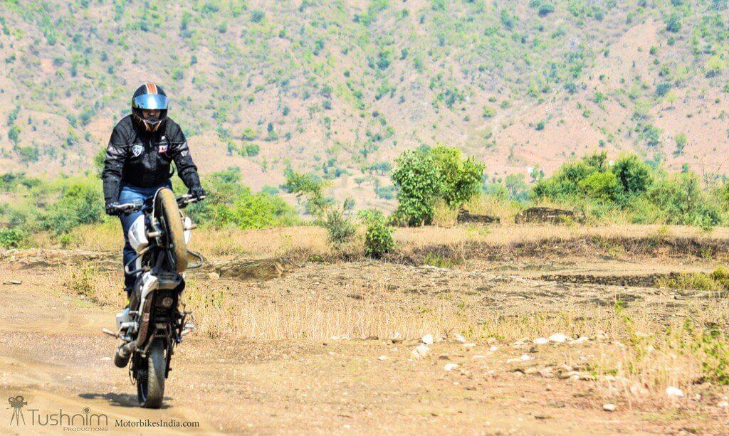 Rohitesh Upadhyay Straighline Wheelie