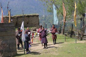 Archery in Haa valley
