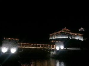 Glittering paro dzong