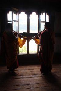 Monks in jakar