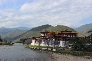 The beautiful Punakha Dzong