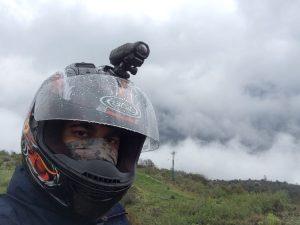 Helmet wali selfie