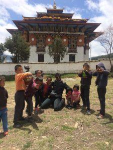 Kids of Ura valley. they definitely loved posing