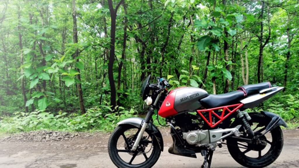 B3.1 motorcycle is an upgraded Bajaj Pulsar 150