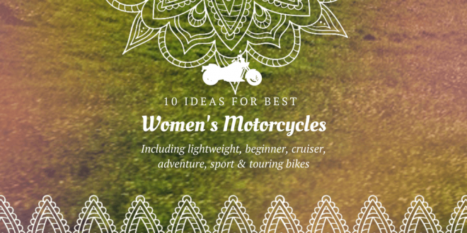 Best motorcycles for women
