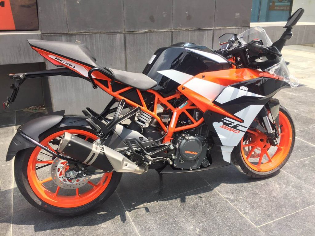 2017 KTM RC 390 Specifications