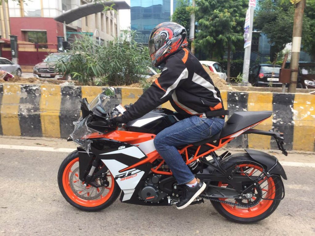 2017 KTM RC 390 Test Drive (test ride)