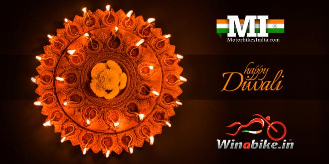 Happy Diwali from Motorbikes India and Winabike.in