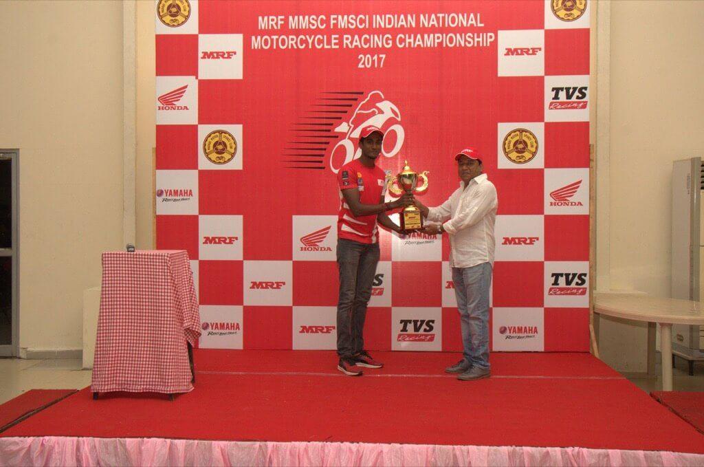 Naresh Babu RACR team 2