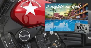 Win a UM Renegade plus three nights in Goa