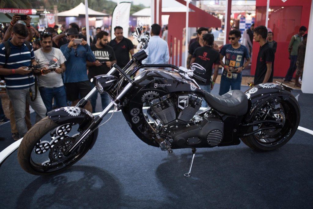 IBW 2017 Custom motorcycle