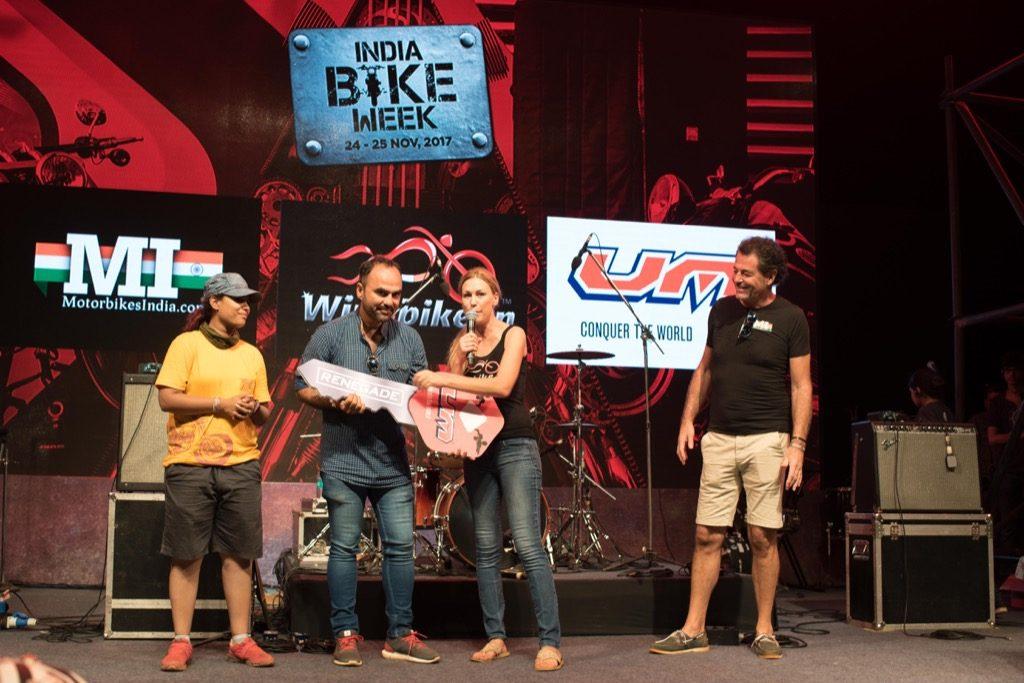 Winabike award at IBW