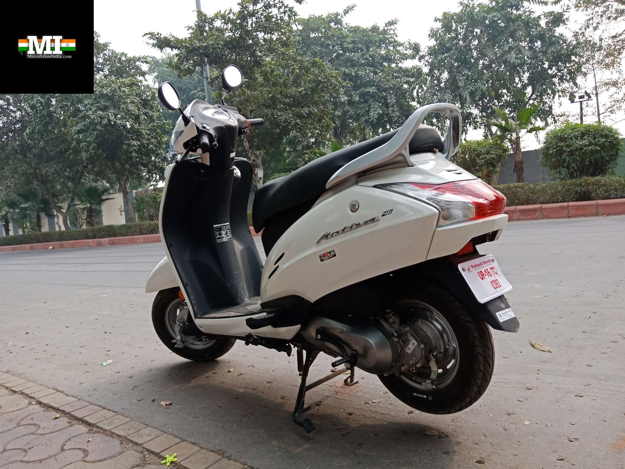 Brilliant Honda Activa 4G Road Test Review Indias Best Selling Evergreenethics Interior Chair Design Evergreenethicsorg