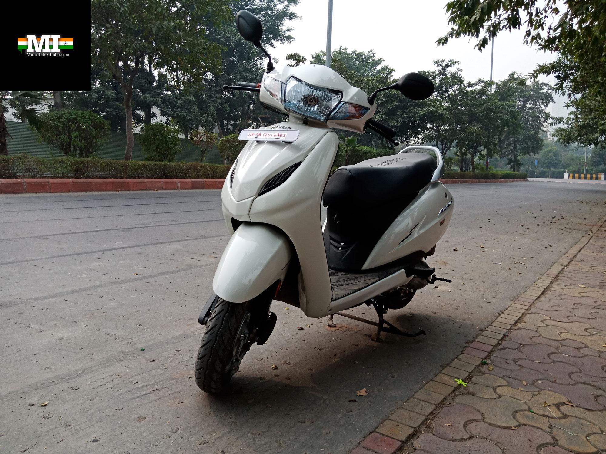 Stupendous Honda Activa 4G Road Test Review Indias Best Selling Evergreenethics Interior Chair Design Evergreenethicsorg