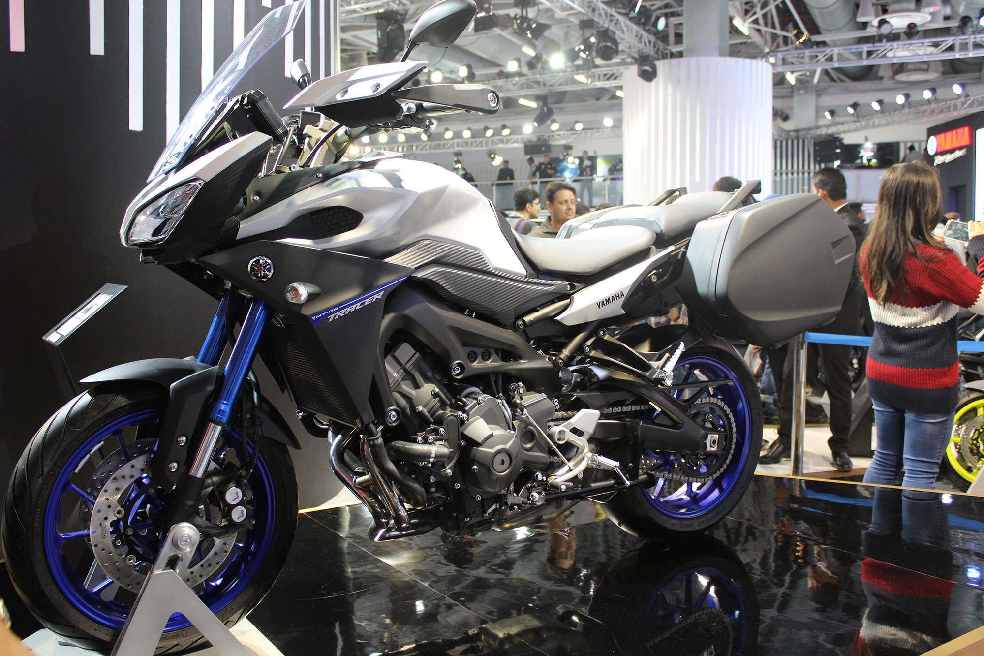 A Quick Glance at the Auto Expo 2018 Brands: Yamaha